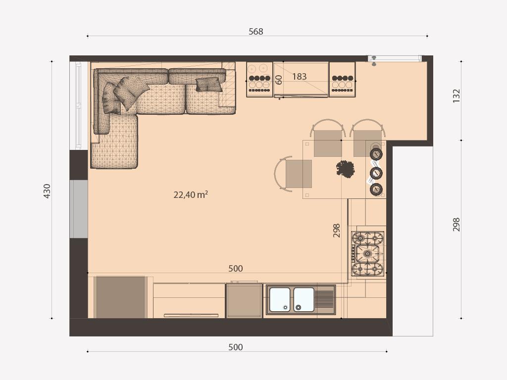 Progettazione casa roma erica casa for Planimetria 3d online