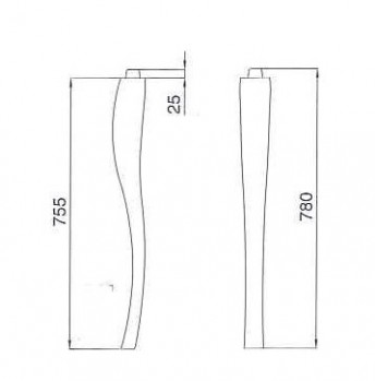 gambe consolle scheda tecnica