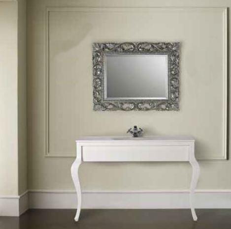 Neoclassico consolle bianca erica casa for Consolle scrivania moderna