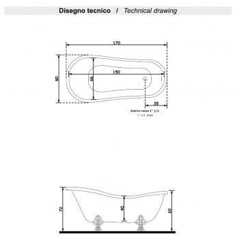 Vasca Scheda Tecnica Classico 1