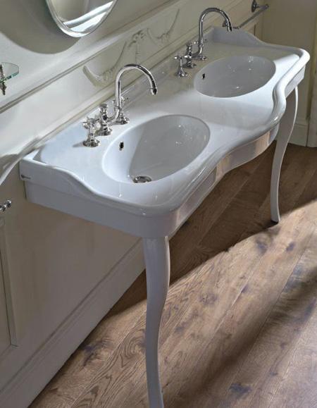 Classico consolle liberty doppia erica casa - Consolle bagno classico ...