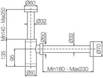 SIFONE LINEA TIMER RICAMBI PB 505 - SCHEDA TECNICA