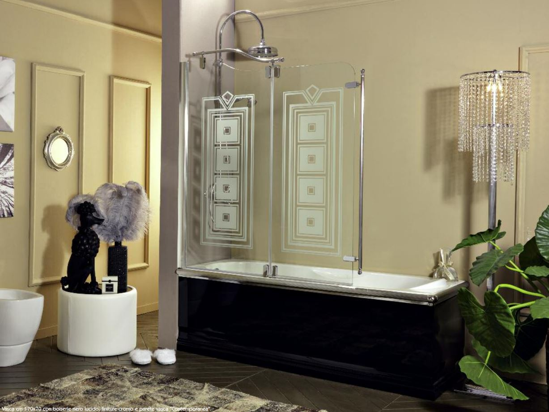 Classico box vasca 130 erica casa - Box vasca da bagno ...