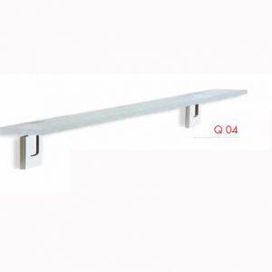 MENSOLA VETRO SATINATO 8 mm STILL COD. Q04