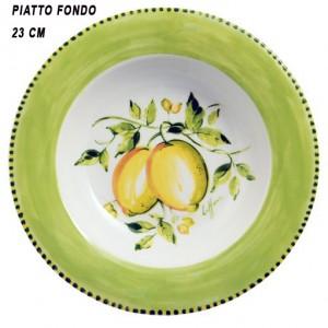 LIMONI PIATTO FONDO 23 CM